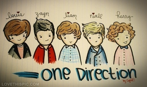 500x299 One Direction Drawing Pictures, Photos, And Images For Facebook