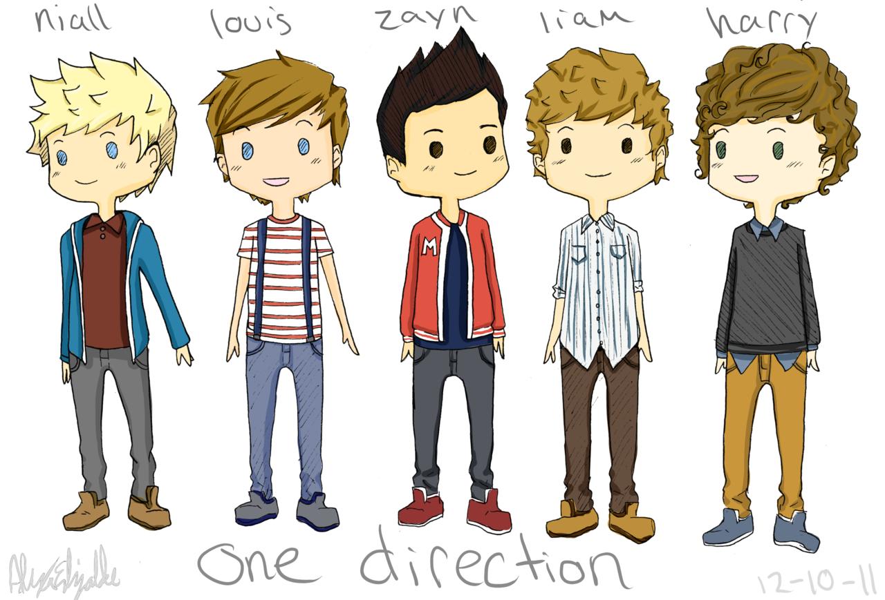 1280x869 One Direction Cartoon Tumblr Cartoon One Direction