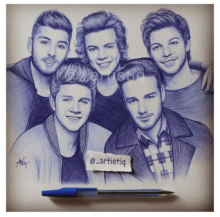 720x710 9 Best One Direction Drawings Images On One Direction