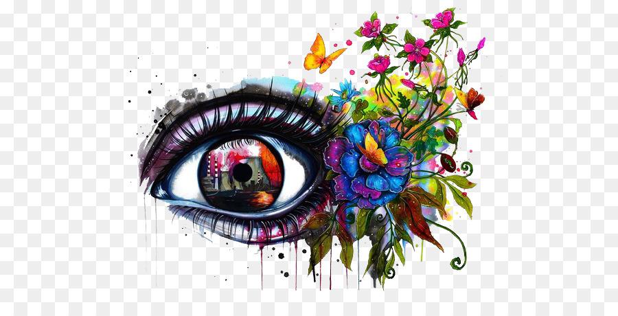 900x460 Drawing Art Watercolor Painting Eye