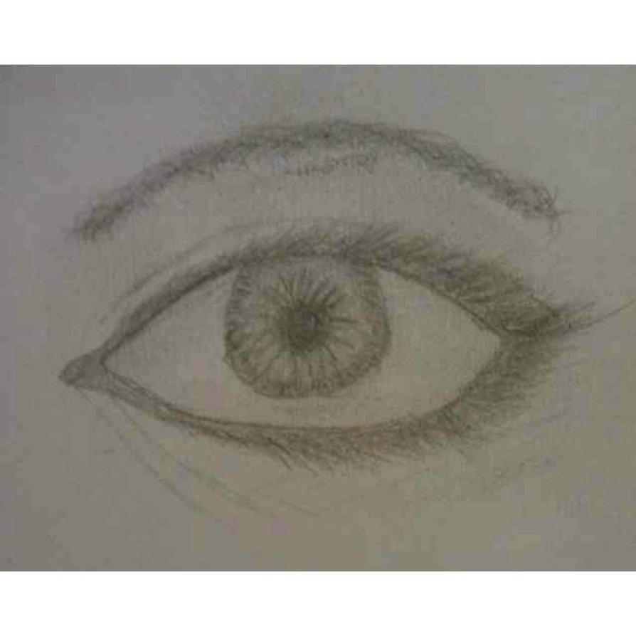 894x894e Eye Drawing By Prettypinkponi