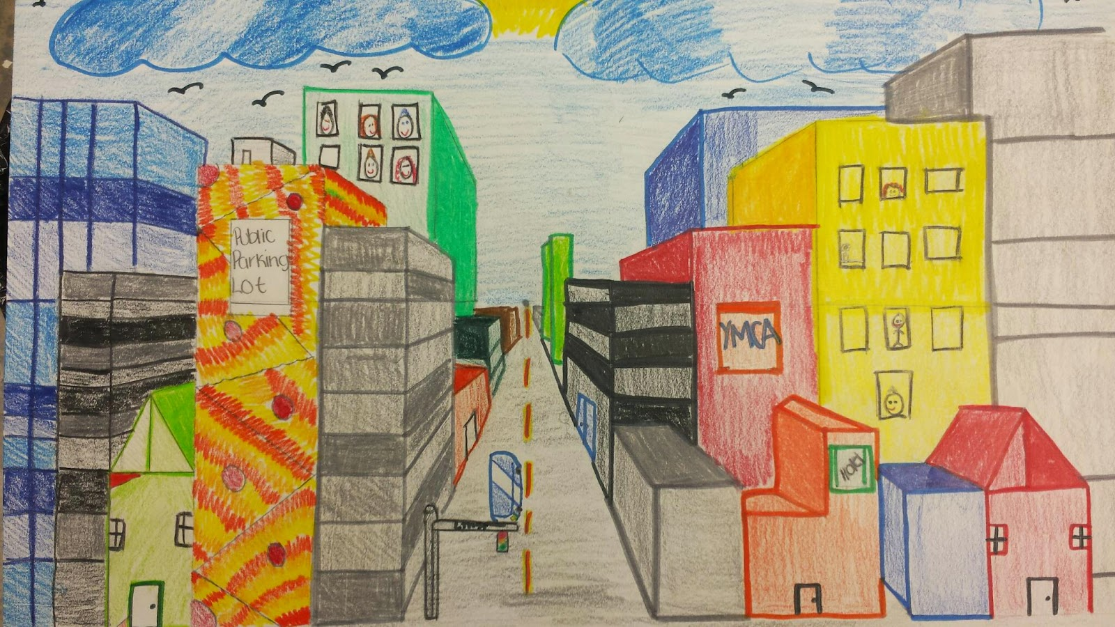 1600x900 Mr. Mintart 1 Point Perspective Cities And Rooms