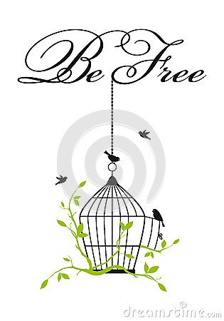 315x450 Bird Cage Vector Art