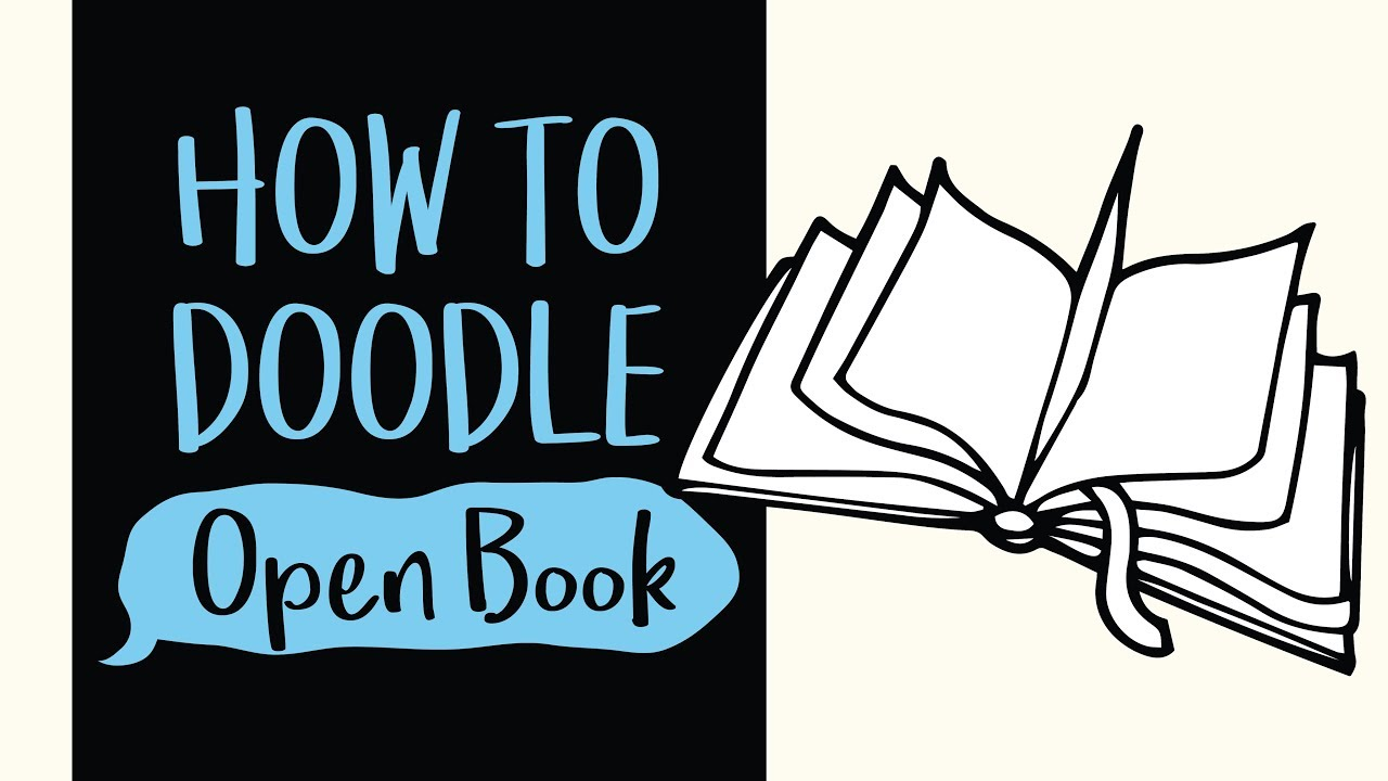1280x720 How To Draw An Open Book (Easy Step By Step Drawing And Coloring