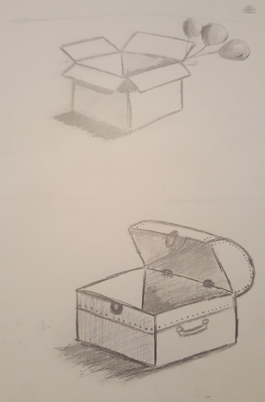 530x804 Lesson 5 Open Boxes. In Which I Draw A Trunk And A Box That Lost