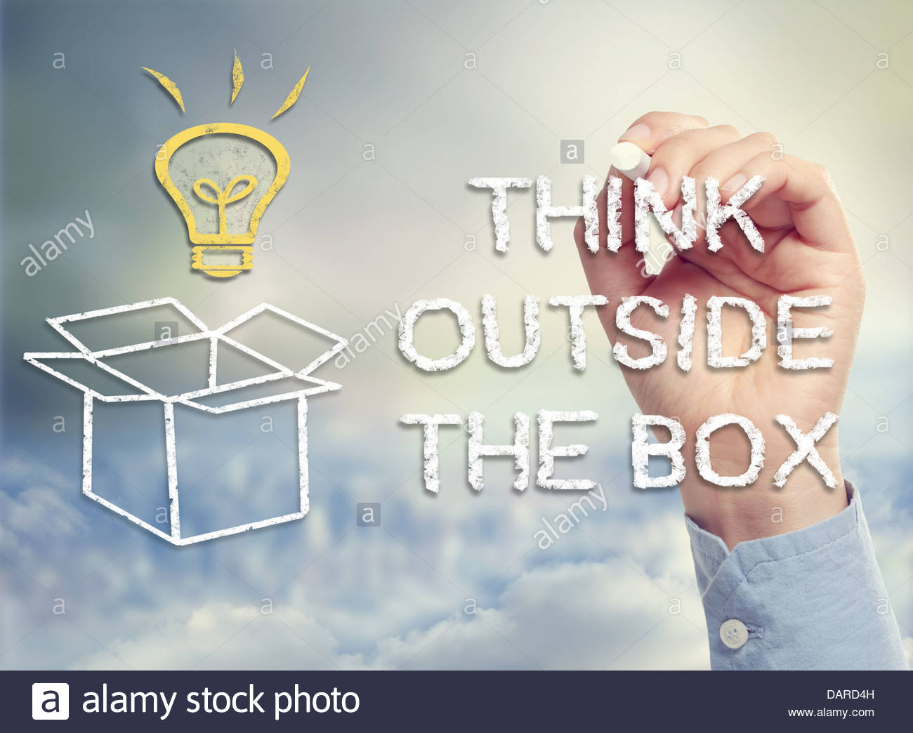 1300x1044 Think Outside The Box Concept With Idea Light Bulb And Open Box
