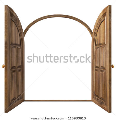 450x470 Clipart Door Opening Open Door Policy Clipartsc1st Captivating