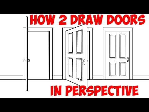 480x360 How To Draw An Open Door