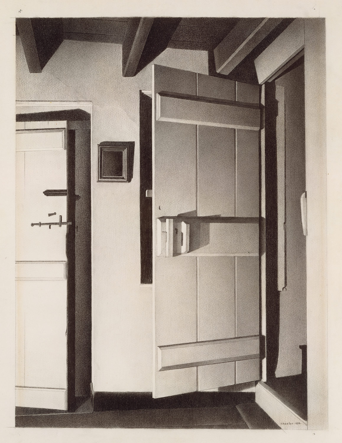1157x1500 The Open Door Charles Sheeler 1992.24.7 Work Of Art