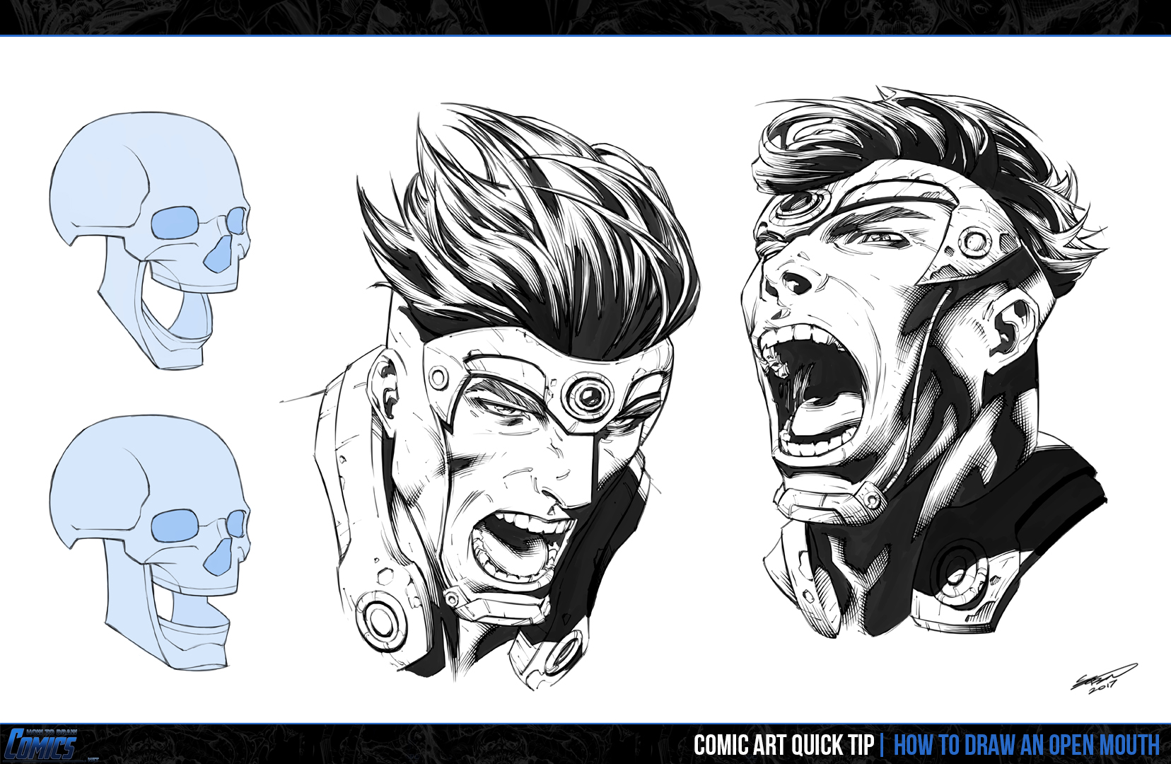 1656x1080 How To Draw An Open Mouth How To Draw Comics Net