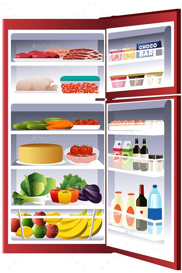 590x885 Inside Of A Refrigerator Modern Refrigerators, Ice Cream