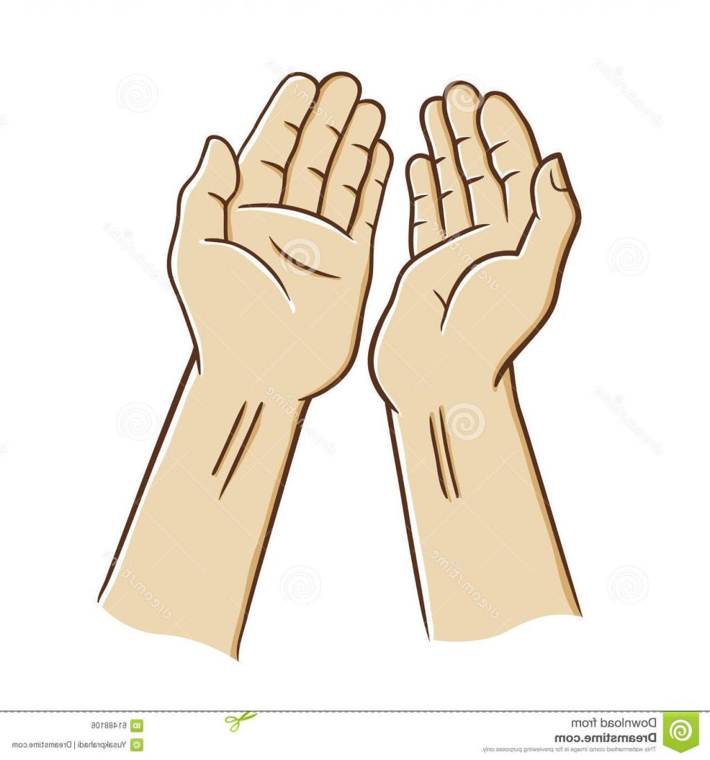 1024x1095 Best Open Hands Praying Two Palm Illustration Drawing