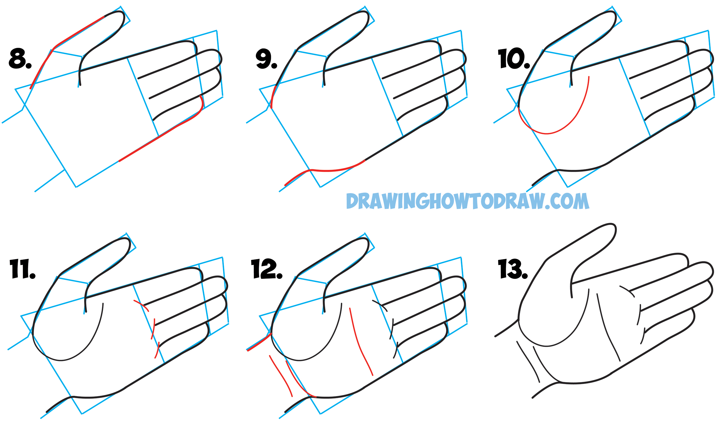 2500x1468 How To Draw Hands Open Palm