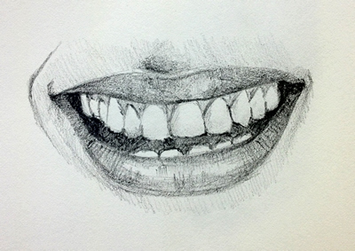 400x283 How To Draw Mouths