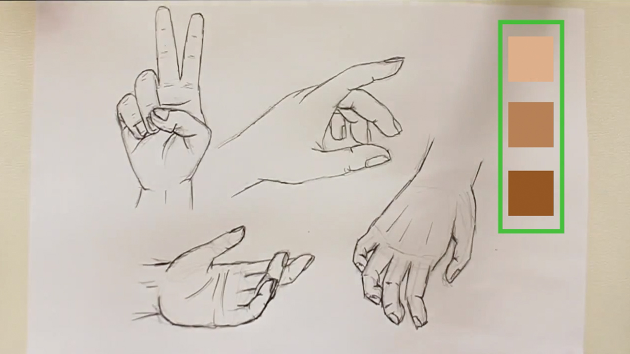 1280x720 How To Draw A Hand 14 Steps (With Pictures)