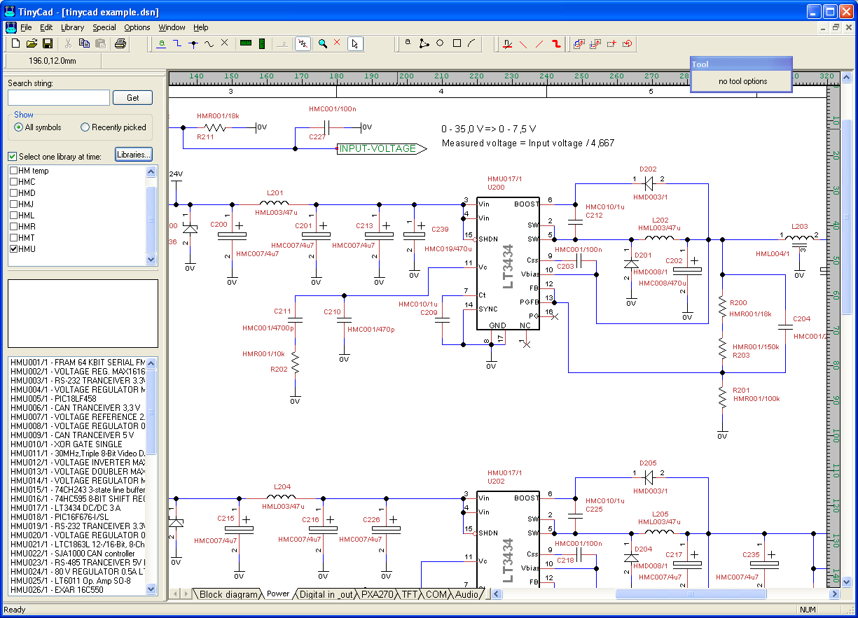 1225x883 Download Tinycad The Open Source Schematic Editor For Windows