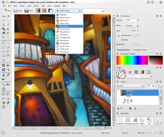 545x457 Krita The Open Source Digital Painting And Drawing Suite