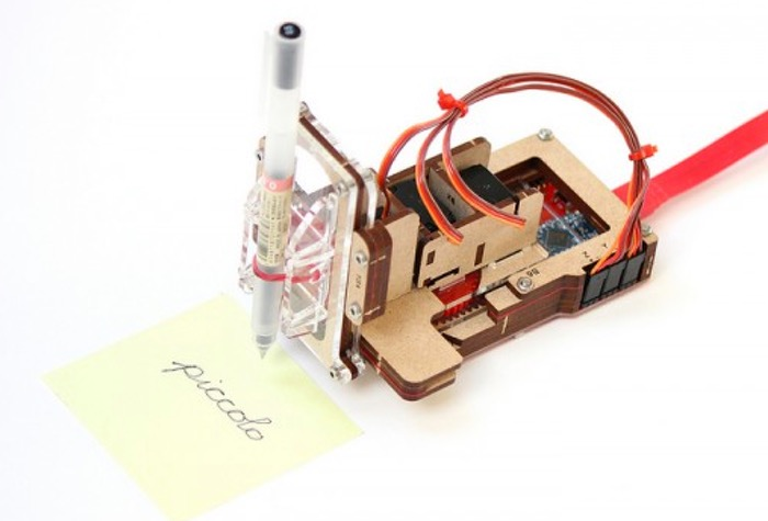 700x475 Piccolo Pocket Open Source Cnc 3 Axis Drawing Robot (Video)