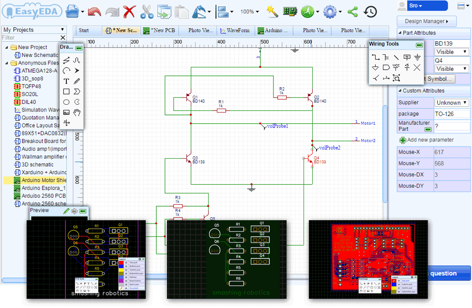 975x635 Easyeda Free Web Based Pcb Design And Simulation Tool