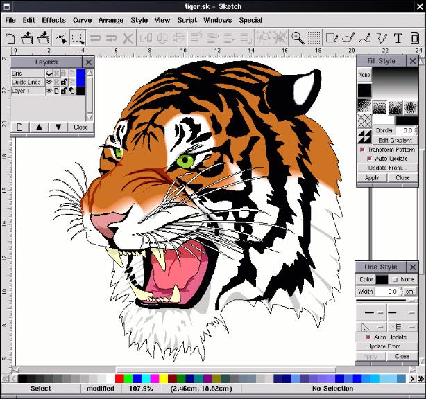614x576 Vector Graphics Editors