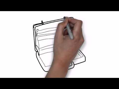 480x360 How To Draw An Open Briefcase