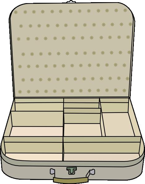 468x593 Suitcase Clip Art