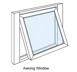 270x250 Awning vs. Casement Windows What#39s the Difference