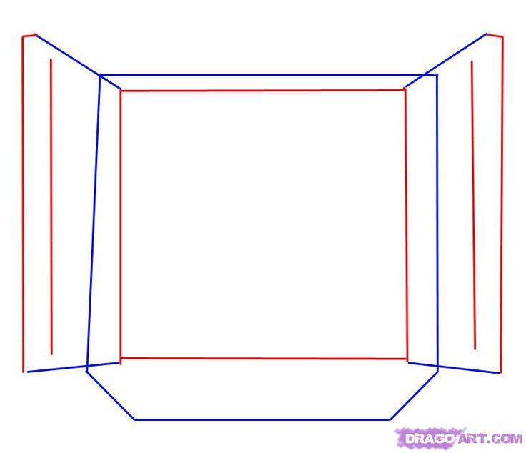 736x634 Como Desenhar Uma Janela Aberta Passo A Passo 3 Desenhos
