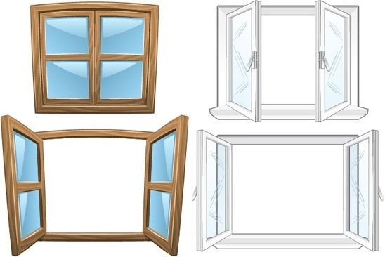 548x366 House Open Window Free Vector Download (87,076 Free Vector)