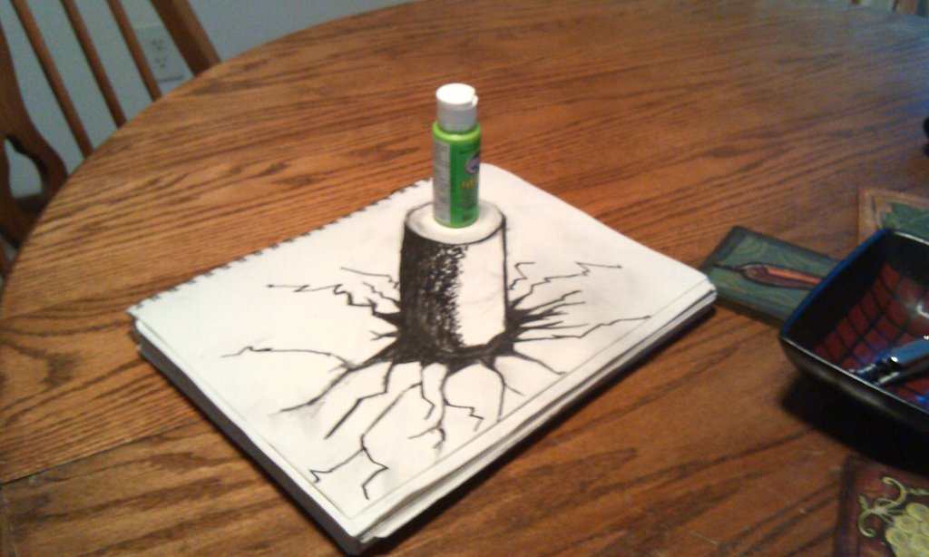 Optical Illusion Drawing At Getdrawings Com Free For