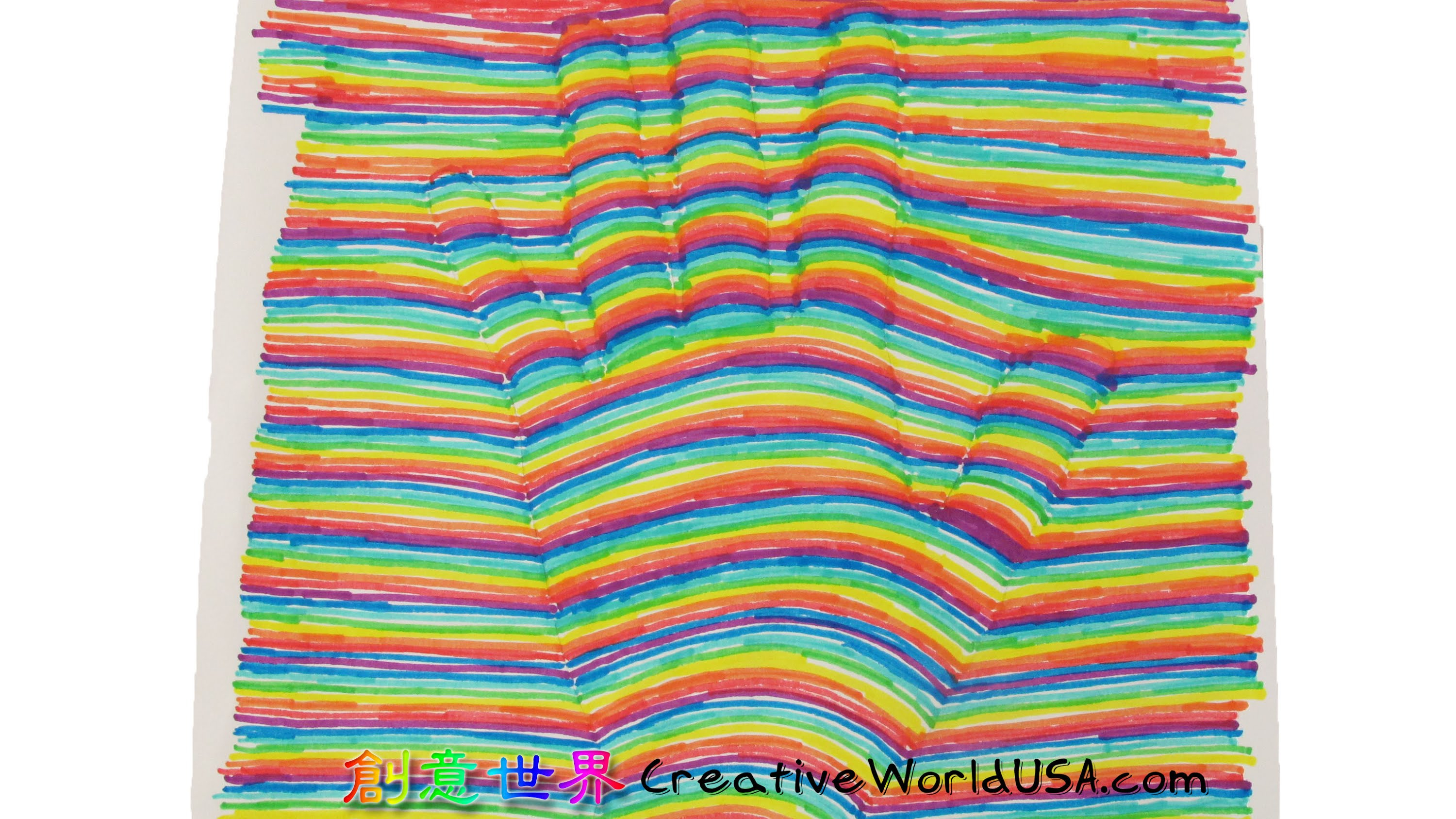 3000x1687 Optical Illusion Hand Drawing 3d Hand Drawing Optical