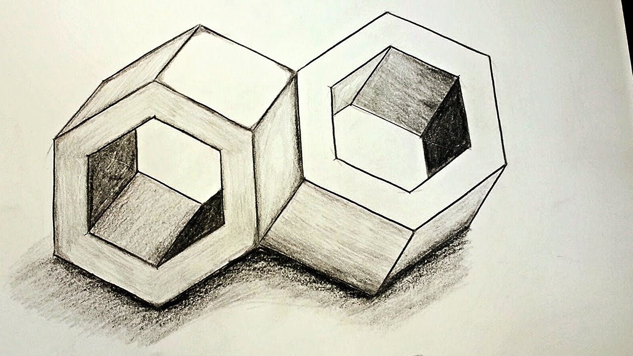 1280x720 How To Draw 3d Optical Illusions Inseparable