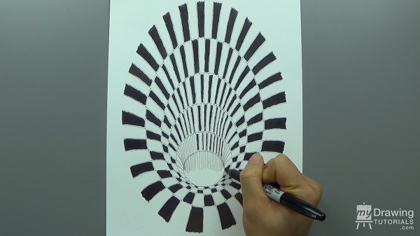 600x337 How To Draw A 3d Hole Optical Illusion My Drawing Tutorials