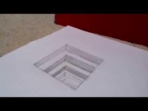 480x360 Optical Illusion Drawing
