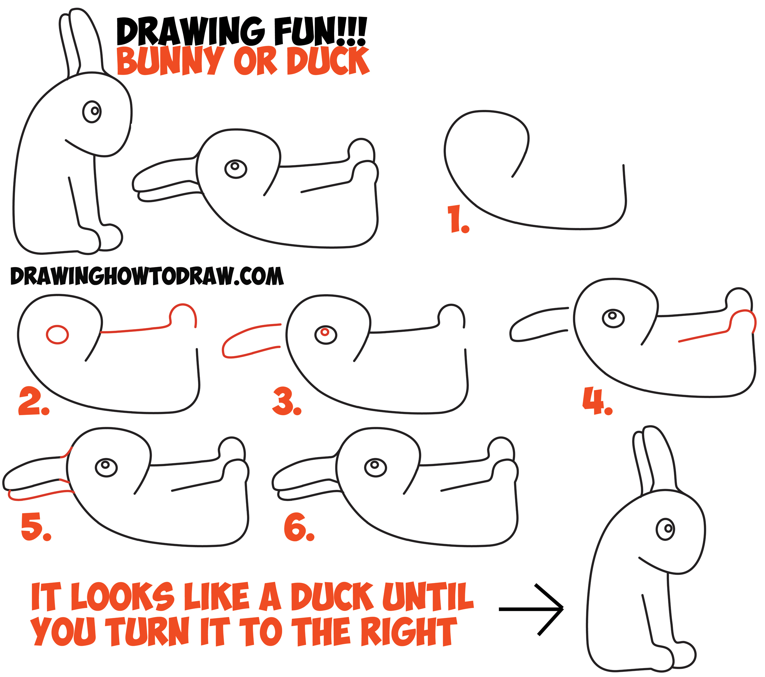 Optical Illusions Step By Step Drawing at GetDrawings