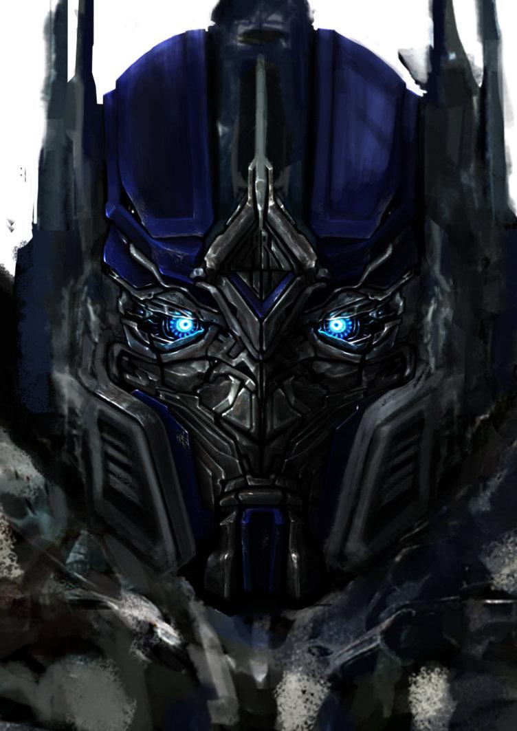 752x1063 Optimus Prime Face Tf5 By Bradleyfrew18