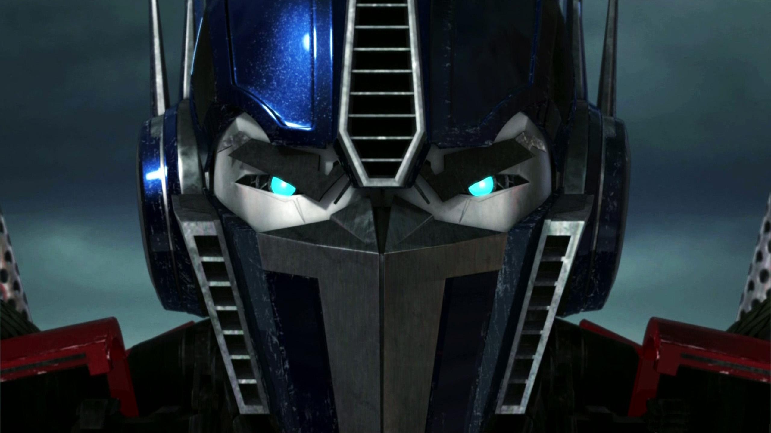 2560x1440 Optimus Prime Game Face Digital Citizen