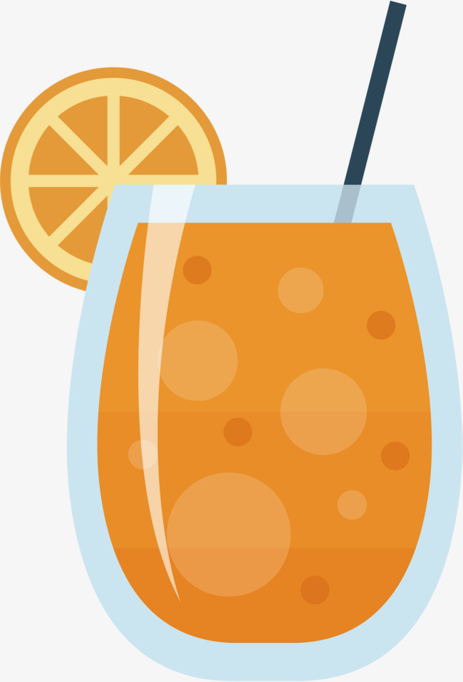 650x956 Vector Hand Painted Orange Juice, Orange Juice, Vector Diagram
