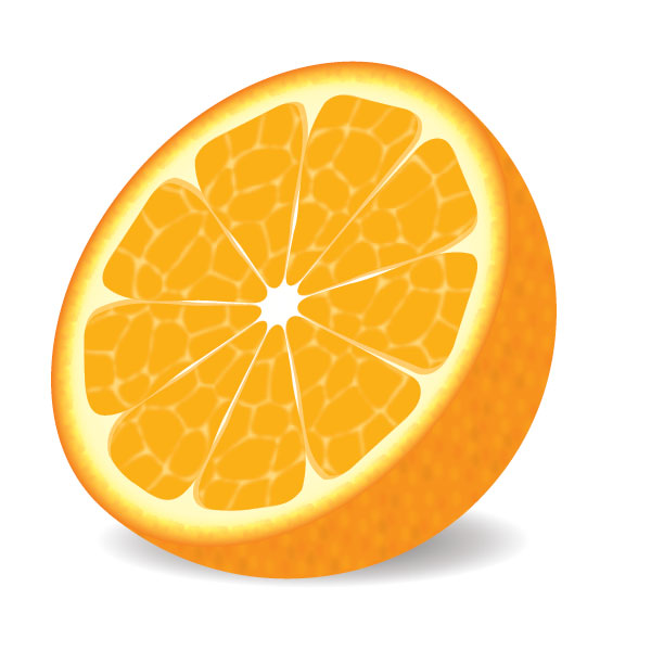600x600 How To Make A Delicious Vector Orange In 9 Decisive Steps