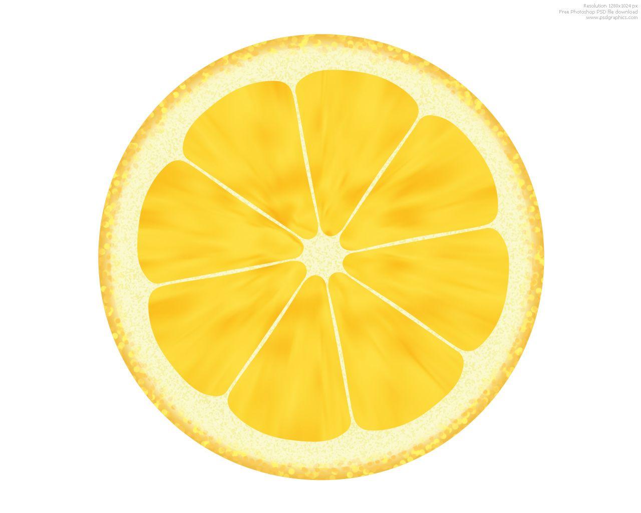 1280x1024 Lemon Slice Drawing Lemon Slice Clip Art Crafts