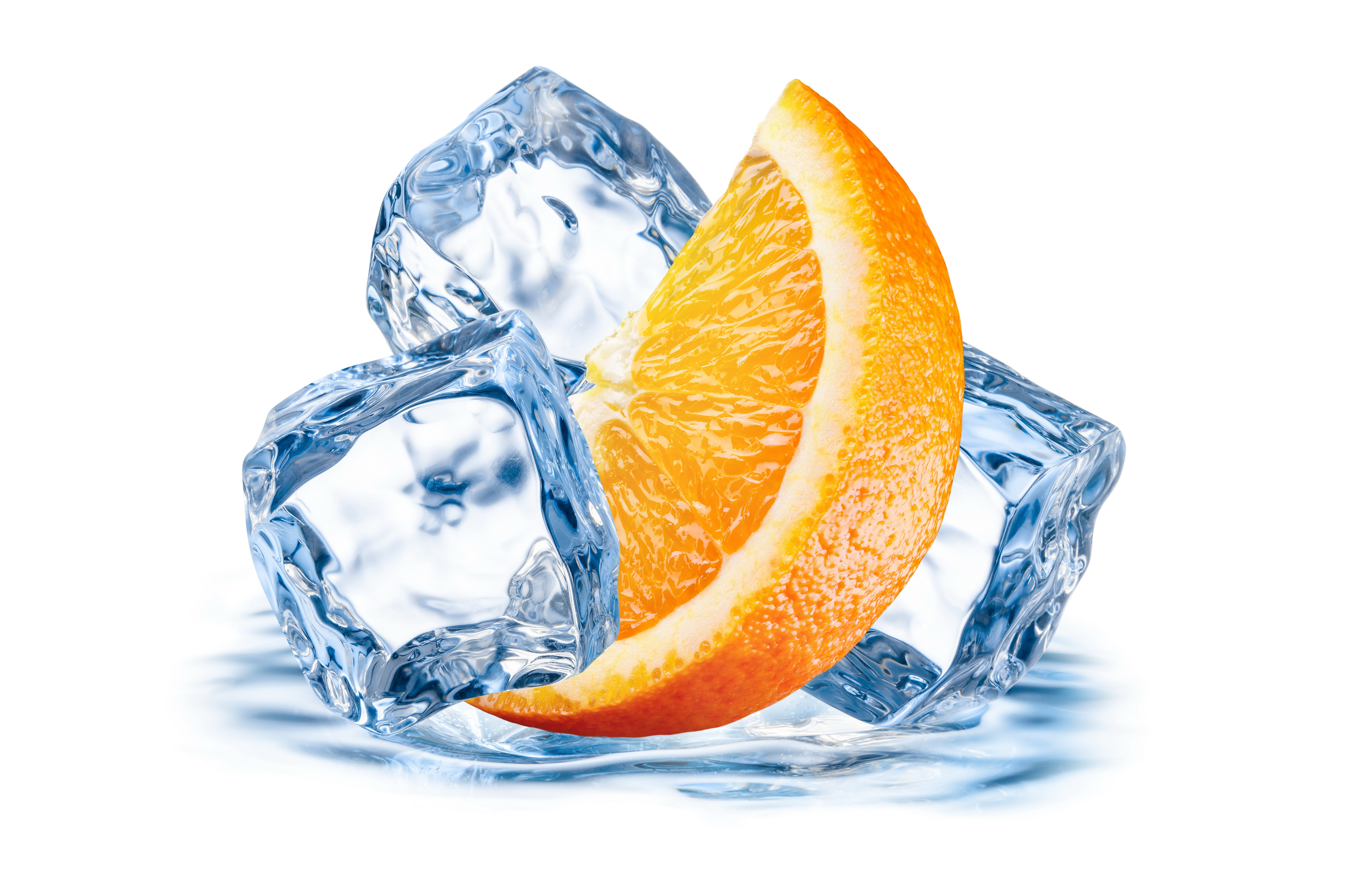 6500x4317 Wallpaper Orange, Ice, Juicy, Citrus Hd, Picture, Image