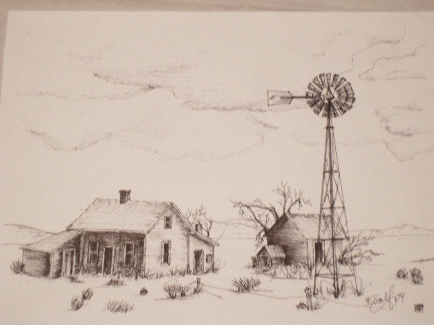 1500x1125 A Homestead On The East Side Of Oregon In The Northern Plains Area