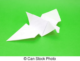 256x194 Origami Bird Made From Recycled Paper. Origami Bird Recycled