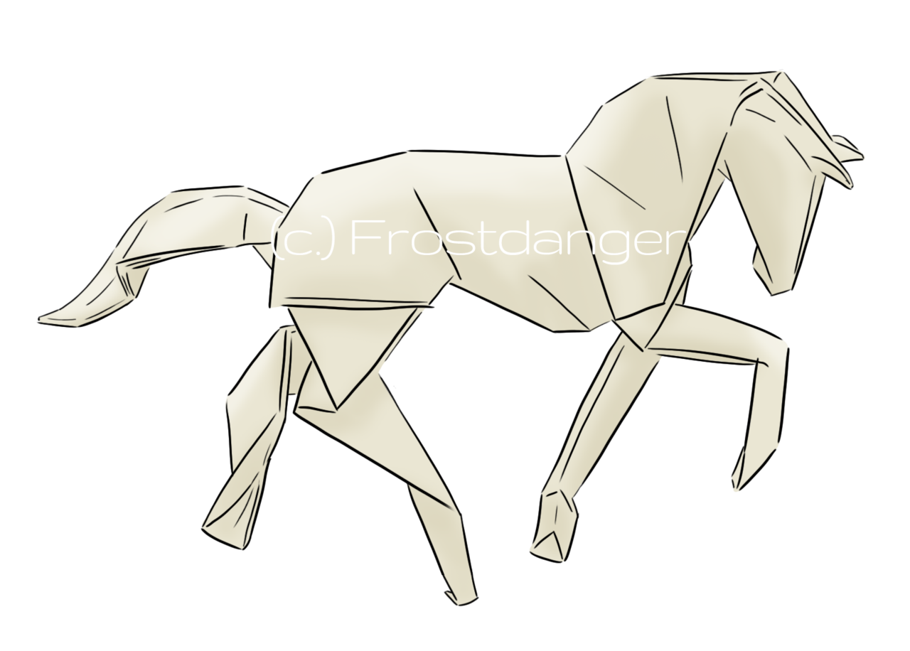 1280x916 Origami Horse By Frostdanger On DeviantArt