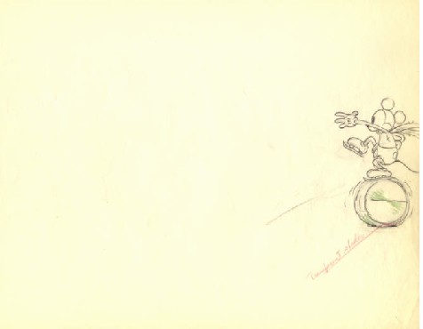 476x370 Mickey Mouse From Mickey On Ice(1930) Drawing 3