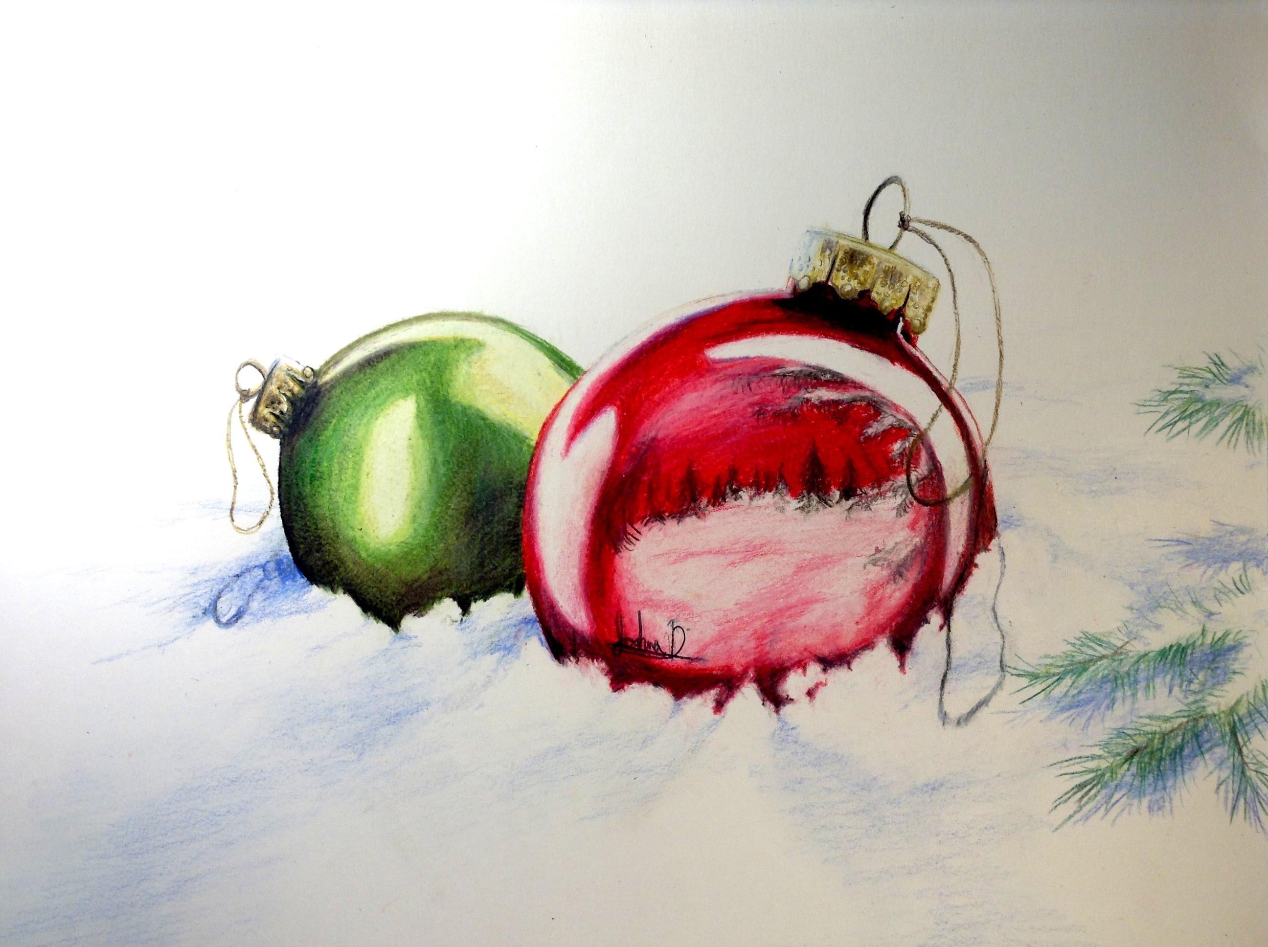 2592x1936 Christmas Ornaments