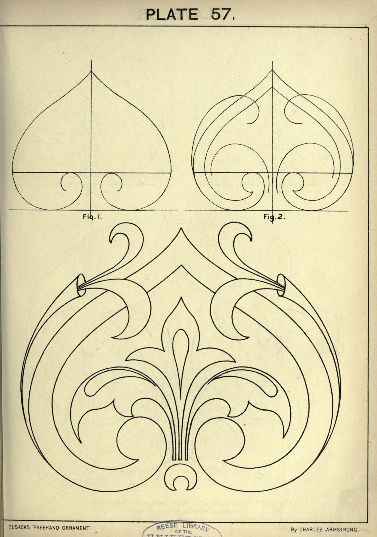 1274x1813 Cusack's Freehand Ornament. A Text Book With Ch Window For Me