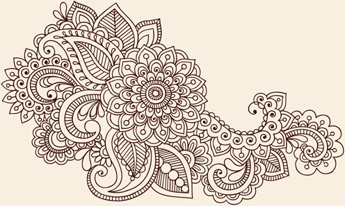 496x297 Flower Ornament Free Vector Download (18,691 Free Vector)