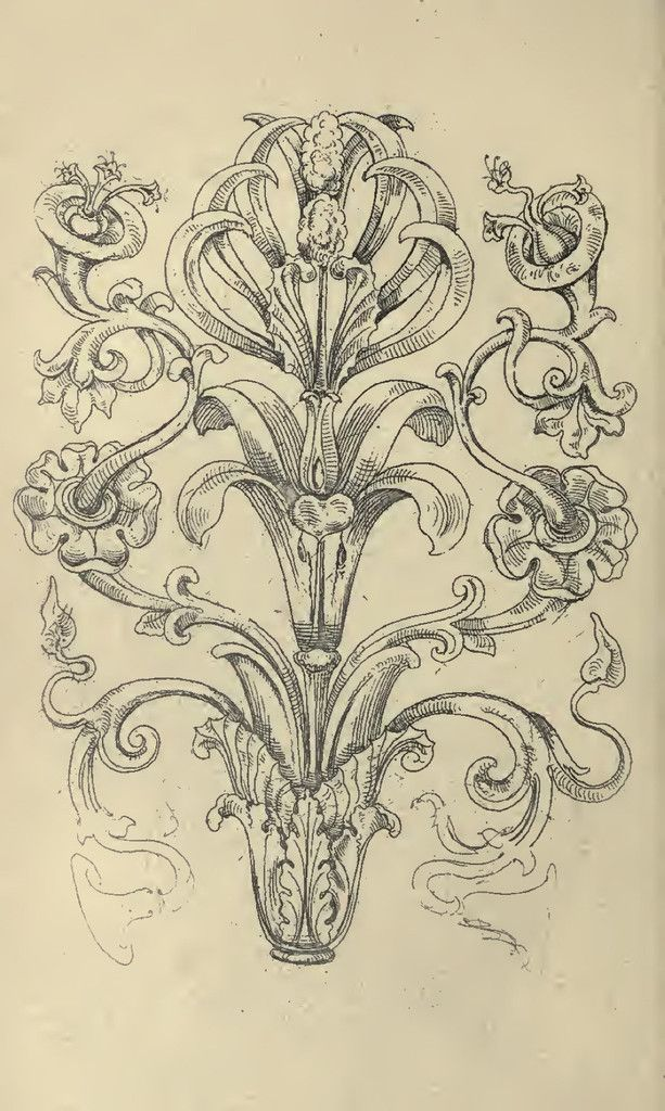 613x1024 Step By Step Drawing Ornate Frames And More Textile Prints