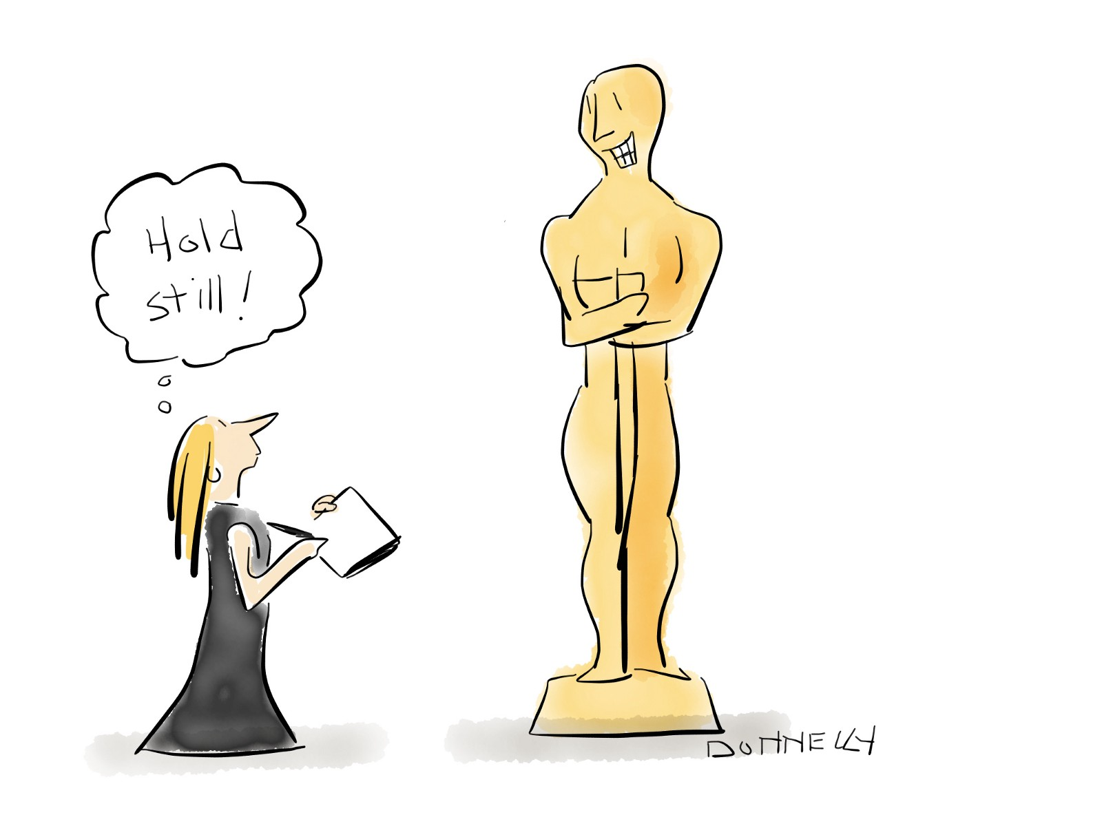 1600x1200 Live Drawing The 90th Academy Awards! Liza Donnelly Medium